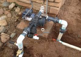 پمپ در سیستم آبیاری بارانی